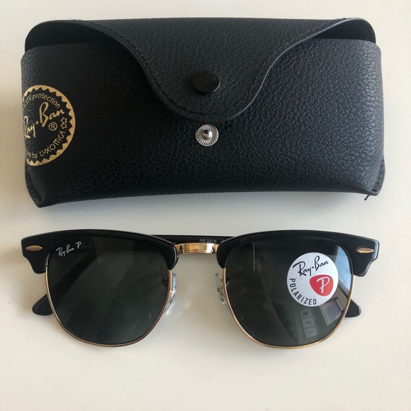 ray ban clubmaster polarized sunglasses